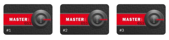 Master Card Set Iseo Libra Smart
